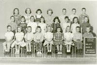 1963 Second Grade Class  with Goldie Vitt