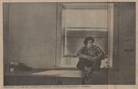 Clifford Burke on window sill