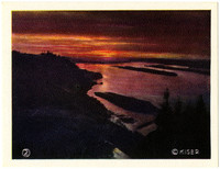 Color image of Columbia River Gorge
