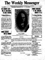 Weekly Messenger - 1923 January 5