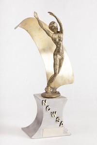 Tennis Trophy: NCWSA AIAW Region IX (9), 1980