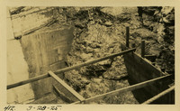 Lower Baker River dam construction 1925-03-28