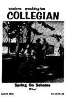 Western Washington Collegian - 1962 April 20