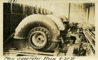 Lower Baker River dam construction 1925-08-25 Main Generator Room