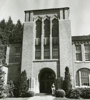 1960 Campus School Building Main Entrance