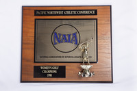 Golf (Women's) Plaque: NAIA Pacific Northwest Athletic Conference Champions, 1998