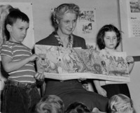 1948 Katherine Casanova With Students