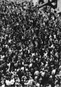 1991 Students Protest the Persian Gulf War