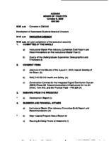 WWU Board minutes 2000 October