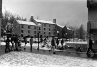 1969 College Hall: Snowstorm
