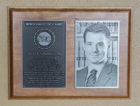 Hall of Fame Plaque: Scot Swanson, Soccer, Class of 2013