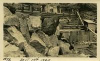 Lower Baker River dam construction 1924-09-17 Diversion dam