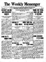 Weekly Messenger - 1920 May 21