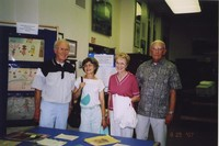 2007 Reunion--Carlin Freeberg and Sharon Freeberg with Erling Freeberg and Dolores Freeberg