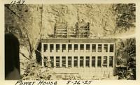 Lower Baker River dam construction 1925-08-26 Power House