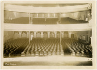 Interior of auditorium of Paramount Theater in Mount Vernon, WA