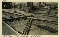 Lower Baker River dam construction 1925-06-23 3rd Floor P.H. E. Side