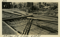 Lower Baker River dam construction 1925-06-23 3rd Floor P.H. E. Side