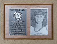 Hall of Fame Plaque: Lori deKuber, Basketball, Class of 2013
