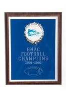 Football Plaque: GNAC Football Champions, 2001/2002