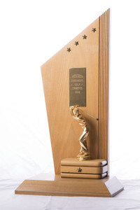 Golf (Men's) Trophy: Evergreen Conference Champions, 1958