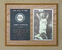 Hall of Fame Plaque: James Johnson, Basketball (Forward), Class of 1999