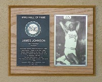 Hall of Fame Plaque: James Johnson, Basketball (Forward), Class of 1999