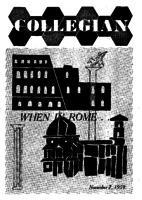 Collegian - 1959 November 7