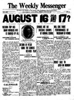 Weekly Messenger - 1922 July 28