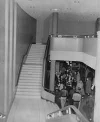 1952 Auditorium-Music Building: Lobby