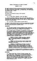 WWU Board minutes 1960 February