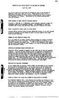 WWU Board minutes 1938 April