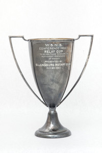 Track and Field (Men's) Trophy: WSNS Conference Meet Relay Cup, Ellensburg Rotary Club, 1923