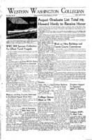 Western Washington Collegian - 1948 August 13