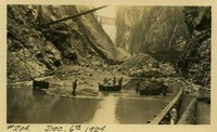 Lower Baker River dam construction 1924-12-06