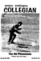 Western Washington Collegian - 1962 January 26