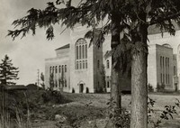 1936 Library: South Facade
