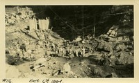 Lower Baker River dam construction 1924-10-06 Excavation, possibly at powerhouse