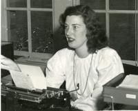 1948 Marvlyn Mathes, Campus School Secretary