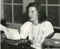 1948 Marvlyn Mathes, Campus School Secretary
