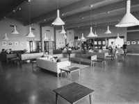 1960 Students in Lounge