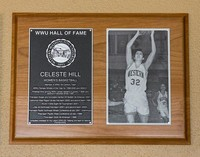 Hall of Fame Plaque: Celeste Hill, Basketball, Class of 2012