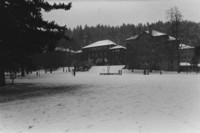 1971 Old Main: Snowstorm