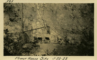 Lower Baker River dam construction 1925-05-22 Power House Site