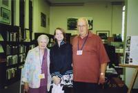 2007 Reunion--Joyce Dunham and Gwinn Dunham with their granddaugher