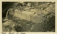 Lower Baker River dam construction 1924-09-15 Diversion dam
