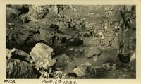 Lower Baker River dam construction 1924-10-06 Excavation