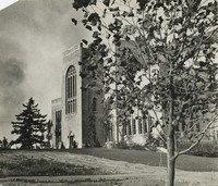 1936 Library: South Side Exterior