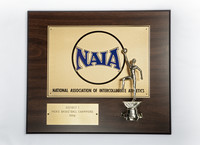 Basketball (Men's) Plaque: NAIA District 1 Champions, 1994