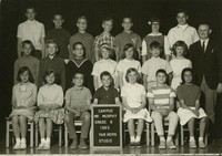 1965 Sixth Grade Class with Michael Murphy
